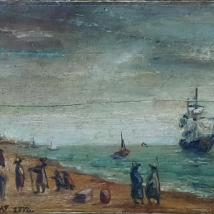 Painting Marine Scene 18th century