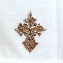 Silver Filigree Cross