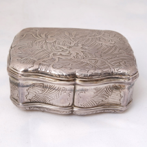 Louis XV Silver Snuffbox