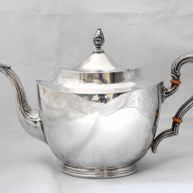 Sterling Silver Art Deco Teapot