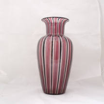 Murano Glass Vase by Livio Campanella